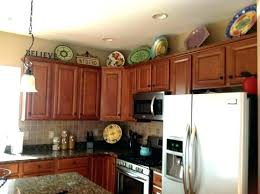Above Kitchen Cabinets Ideas Cool Decoration