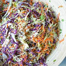 Asian Slaw Recipe With Quinoa And Sesame Ginger Vinaigrette