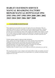 2002 harley davidson road king wiring diagram 2002 60856 harley davidson service manual roadking factory repair manual d u2026 on 2002 harley davidson road harley headlight wiring diagram harley