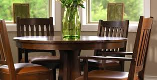 stickley dining chair mission oak round pedestal table gustav stickley dining chairs