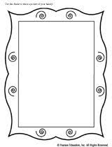 printable frame templates printable picture frames templates your own picture frame coloring