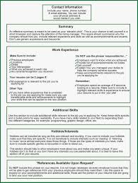 What Do You Include In A Resume What Needs To Be On A Resume