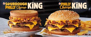 burger king debuts philly cheese king and sourdough philly cheese king sandwich