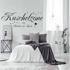 Wandtattoo Wandaufkleber Aa228 Schlafzimmer Kuschelzone Mit Zwei