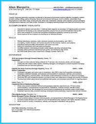 Car Mechanic Resume Picture Examples Automotive Pdf Popular School