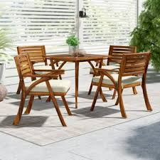Wood outdoor patio furniture Wood Outside Quickview The Family Handyman Wood Patio Furniture Youll Love Wayfair