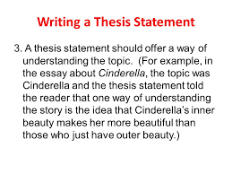 writing a thesis statement ppt video online  2 writing a thesis statement