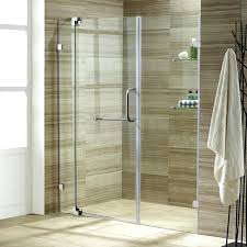 home depot glass shower doors frameless clear and chrome door