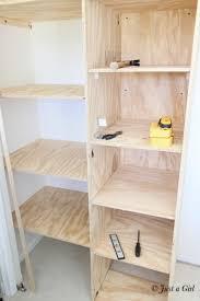 brilliant building closet shelf build idea throughout in plan 12 plywood wood with melamine mdf and rod diy linen custom