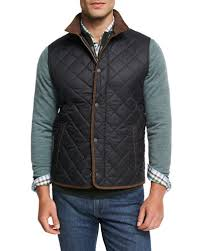 Black Quilted Vest | Neiman Marcus & Quick Look. Peter Millar · Essex Quilted Vest Adamdwight.com
