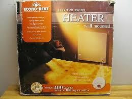econo heat wall mounted electric panel