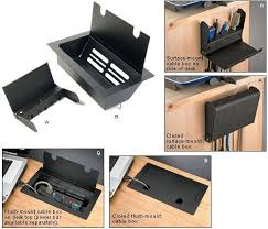 office desk cable management. exellent desk computer desk with wire management ideas for office cable n