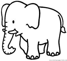 Color Pictures Of Animals Animal Coloring Pages For Kids Printable