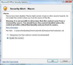 Malicious Macros Used With Empty Microsoft Word Document