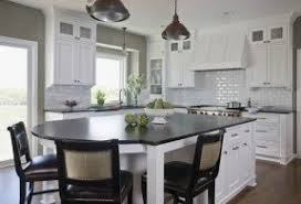 Kitchen island seating for 6