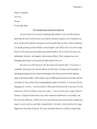 internet addiction essay substance dependence twelve step program