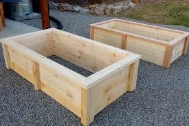 diy raised bed garden box strong