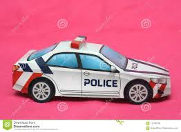 Foldable Paper Car A Paper Folded Police Patrol Car Stock Photo Image Of Cloth Fold