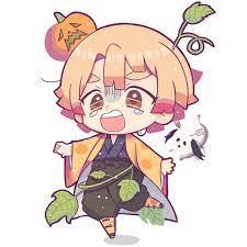 Zenitsu halloween | Anime chibi, Anime demon, Chibi