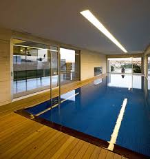 indoor pool house. Modern Glass House Design In Cliff Side Of Galicia Spain Indoor Pool S