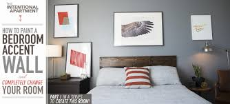 Delightful How To Paint A Bedroom Accent Wall And Completely Change Your Room