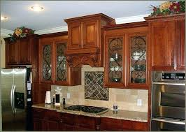 kitchen cabinet doors toronto of decorative glass inserts for cabinets