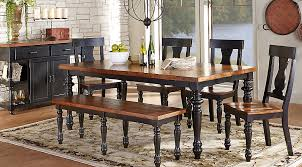 black dining room sets. Cottage Dining Room Sets Awesome Projects Pics Of Dr Rm Hillside Black E