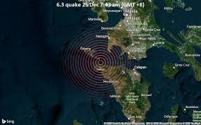 This material may not be published. Significant Earthquake Of Magnitude 6 3 Just Reported 52 Km Southwest Of Balayan Philippines Volcanodiscovery