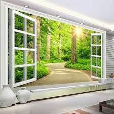 Custom Photo Wallpaper HD Green Fresh ...