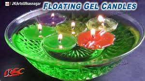 view in gallery floating gel candles