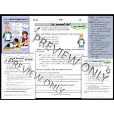 Weekly Evaluation Forms Self Evaluation Forms Self Assessment Sheets
