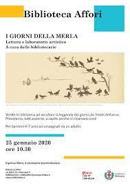 I GIORNI DELLA MERLA » Sistema Bibliotecario di Milano