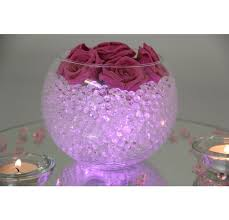 Fish Bowl Decorations For Weddings fish bowl purple wedding centerpieces Google Search Wedding 19