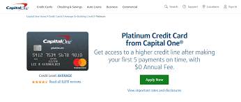 Maybe you would like to learn more about one of these? Www Capitalone Com Credit Cards How To Pay Capital One Platinum Card Bill Online