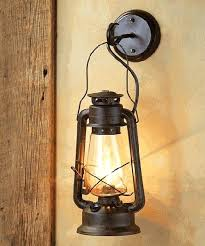 rustic lantern wall sconce more western lamps lights porch