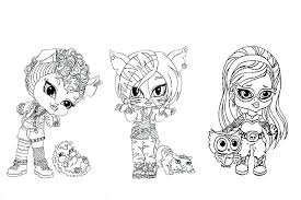 monster high baby coloring pages.  Pages Monster High Baby Coloring Pages 2500200 Intended O