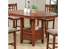 Empire Coffee Table Crown Mark Empire Counter Height Dining Table With Pedestal Base