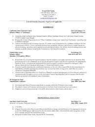 Army Experience On Resume Fresh Military Experience Resume Examples
