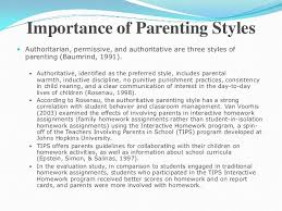 the importance of parent involvement 12 importance of parenting styles