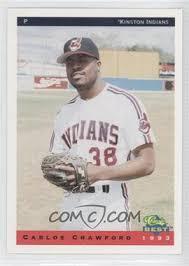 1993 Classic Best Kinston Indians - [Base] #6 - Carlos Crawford