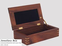 Crafted Timber Jewellery Document Boxes Bendigo Made