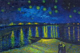 tell a friend starry night over the rhone vincent van gogh
