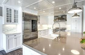 White cabinets with marble countertops Kitchen Kitchen Backsplash Gallery White Cabinet Kitchen With Quartz Island And Marble Counters Kitchen Backsplash Photos With Saturnreturnsinfo Kitchen Backsplash Gallery White Cabinet Kitchen With Quartz Island