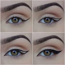 how scotch tape can get you the perfect cat eye