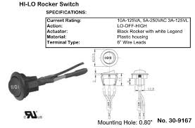 philmore lighted round rocker switch wiring diagram philmore switches rockers 2220022