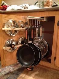 pots and pans rack
