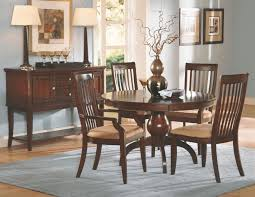 bench a natural cherry wood dining room furniture sets in a inside round cherry dining table plan