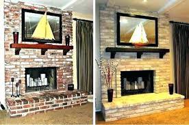 fireplace painting kits amazing fireplace painting ideas fireplace painting kits image of ugly brick fireplace makeover