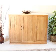 picture mobel oak large hidden. Baumhaus Mobel Solid Oak Extra Large Shoe Cupboard COR20F Picture Hidden