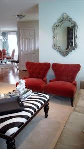 Zebra Print Living Room